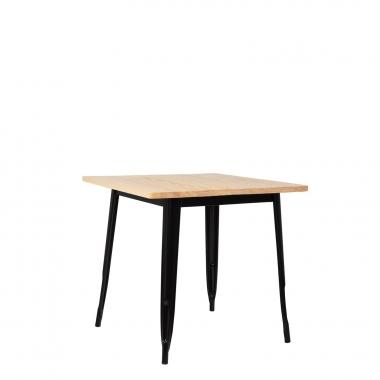 LIX houten tafel (80x80)