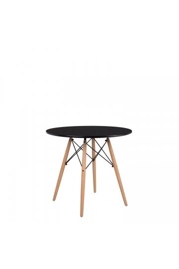 MDF Brich Scand tafel Ø80