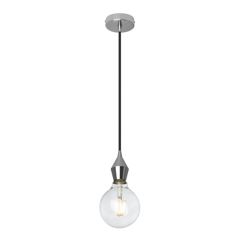 Rhomb metalen hanglamp, galerij beeld 1
