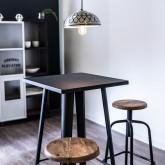 LIX Vintage hoge tafel, miniatuur afbeelding 4