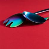 Letu Matte transparante  Salade Bestek, miniatuur afbeelding 3