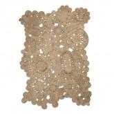 Vloerkleed van natuurlijk jute (205x130 cm) Syrah, miniatuur afbeelding 1