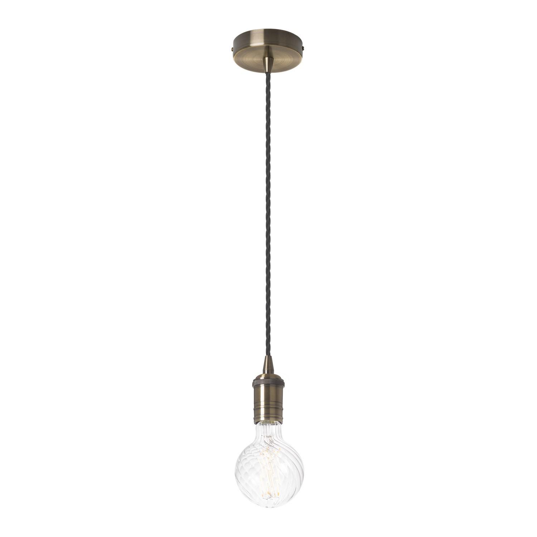 Geborstelde Wong hanglamp, galerij beeld 1