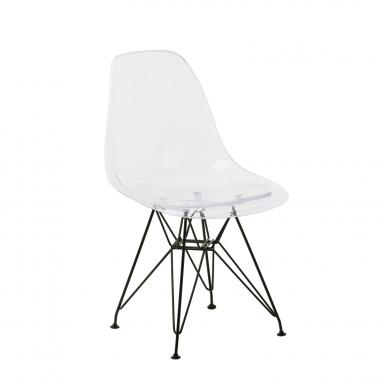 IMS transparante metalen stoel