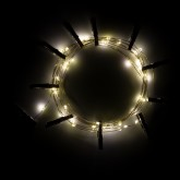 Decoratieve LED-slinger met clips (3,5 m) Inça, miniatuur afbeelding 4
