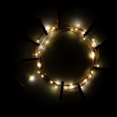 Decoratieve LED-slinger met clips (3,5 m) Inça, miniatuur afbeelding 3