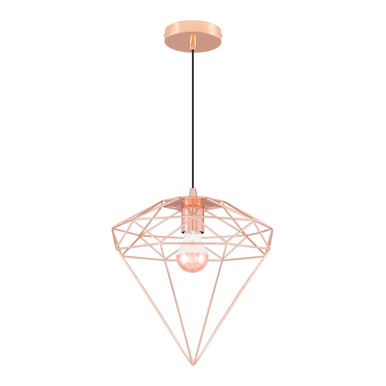 Diam metalen hanglamp, galerij beeld 1