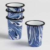Set de 4 Vasos Bleh by Bornn
