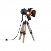 Lámpara de Mesa Trípode Regulable Cinne