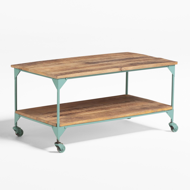 Trada salontafel met wielen, galerij beeld 1