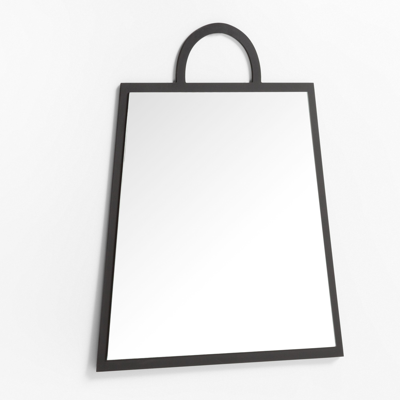 Rechthoekige wandspiegel in MDF (69x59 cm) Calen, galerij beeld 1
