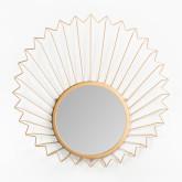 Metalen wandspiegel (61,5x61 cm) Bïggy, miniatuur afbeelding 3