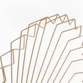 Metalen wandspiegel (61,5x61 cm) Bïggy, miniatuur afbeelding 5