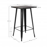 LIX Vintage hoge tafel, miniatuur afbeelding 3