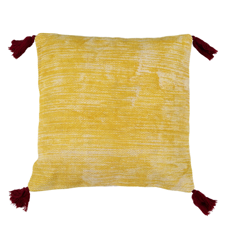Vierkant katoenen kussen (40x40 cm) Thani, galerij beeld 1