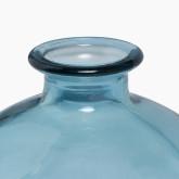 Gerecyclede glazen vaas Kimma, miniatuur afbeelding 2
