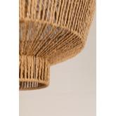 Amaris gevlochten plafondlamp van papier, miniatuur afbeelding 5