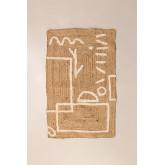 Tapijt van jute en katoen (110x70 cm) Dudle, miniatuur afbeelding 2