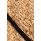 Vloerkleed van natuurlijk jute (240x160 cm) Dyamo, miniatuur afbeelding 5