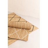 Vloerkleed van natuurlijk jute (240x160 cm) Dyamo, miniatuur afbeelding 4