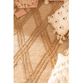 Vloerkleed van natuurlijk jute (180x120 cm) Borom, miniatuur afbeelding 4