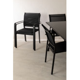 Nohes-tafelset en 4 Nohes-stoelen, miniatuur afbeelding 2