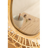 Ovale rotan wandspiegel (60,5x51,5 cm) Zaan, miniatuur afbeelding 3