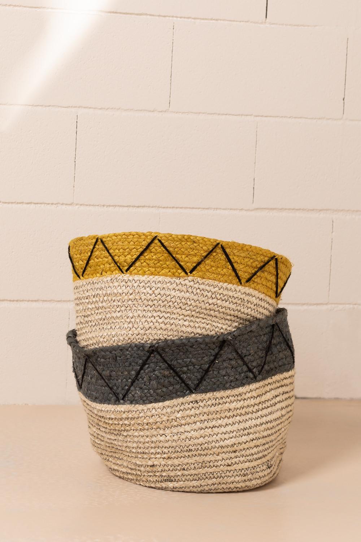 Jute Tinus Baskets, galerij beeld 1