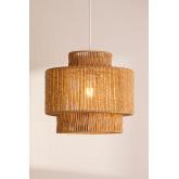 Kena plafondlamp van gevlochten papier, miniatuur afbeelding 2