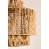 Kena plafondlamp van gevlochten papier, miniatuur afbeelding 3