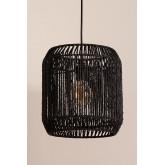 Ydae plafondlamp van gevlochten papier, miniatuur afbeelding 2