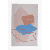 Katoenen vloerkleed (190x120 cm) Kandi, miniatuur afbeelding 1