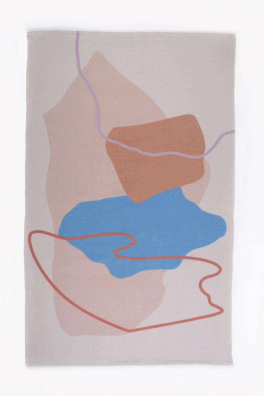 Katoenen vloerkleed (190x120 cm) Kandi, galerij beeld 1
