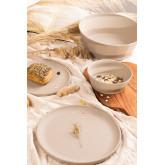 Scott Pack van 4 kleine bamboe borden, miniatuur afbeelding 1