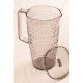 Set van 1 kan 2L en 4 Brandon-glazen, miniatuur afbeelding 3