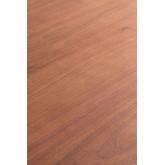 Mesa de Comedor Rectangular en Madera de Nogal (160x90 cm) Rubha