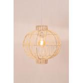 Plafondlamp in rotan (Ø40 cm) Guba, miniatuur afbeelding 2