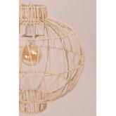 Plafondlamp in rotan (Ø40 cm) Guba, miniatuur afbeelding 4