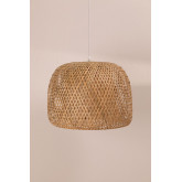 Bamboe plafondlamp (Ø45 cm) Debi, miniatuur afbeelding 2