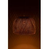 Bamboe plafondlamp (Ø45 cm) Debi, miniatuur afbeelding 3