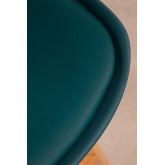 Pak 4 middelgrote krukken met Nordic SK gestoffeerd kussen in, miniatuur afbeelding 6