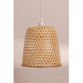 Plafondlamp in rotan (Ø30 cm) Kalde, miniatuur afbeelding 3