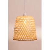 Plafondlamp in rotan (Ø30 cm) Kalde, miniatuur afbeelding 4