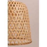 Plafondlamp in rotan (Ø30 cm) Kalde, miniatuur afbeelding 6
