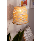 Plafondlamp in rotan (Ø30 cm) Kalde, miniatuur afbeelding 2