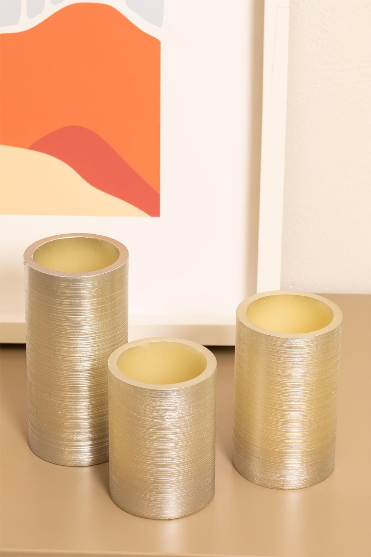 Dhels kaarsen zilver, galerij beeld 1