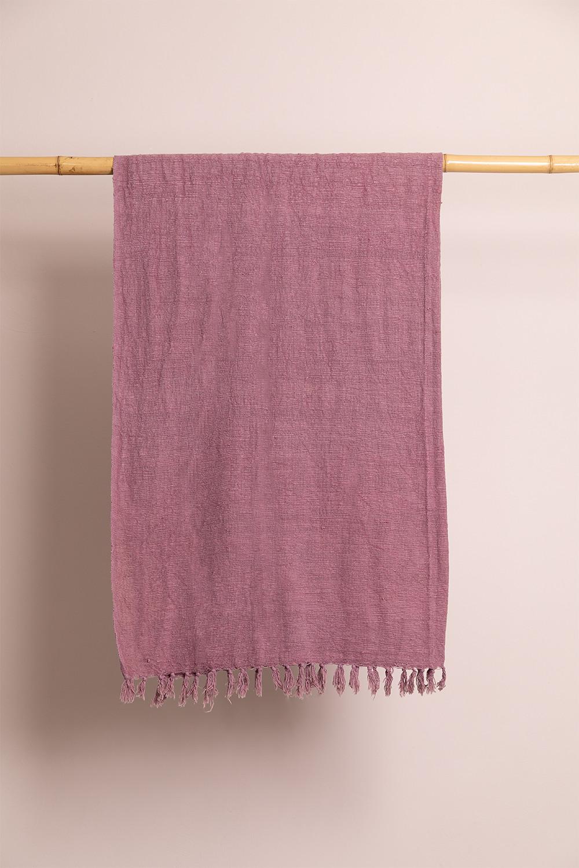 Lavani katoenen plaid deken, galerij beeld 1