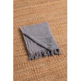 Geruite deken van majestueus katoen, miniatuur afbeelding 3