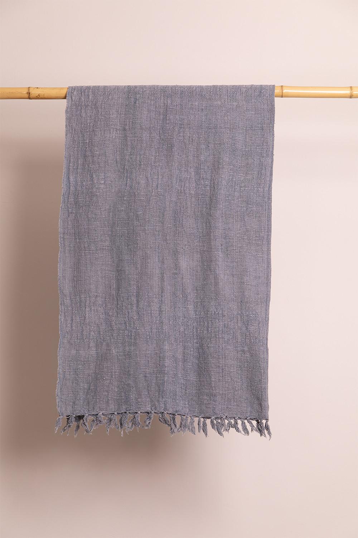 Geruite deken van majestueus katoen, galerij beeld 1
