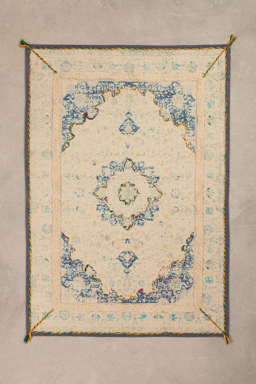 Katoenen vloerkleed (170x120 cm) Dok, galerij beeld 1